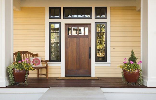 Connaitre le sens d'ouverture d'une porte d'entrée
