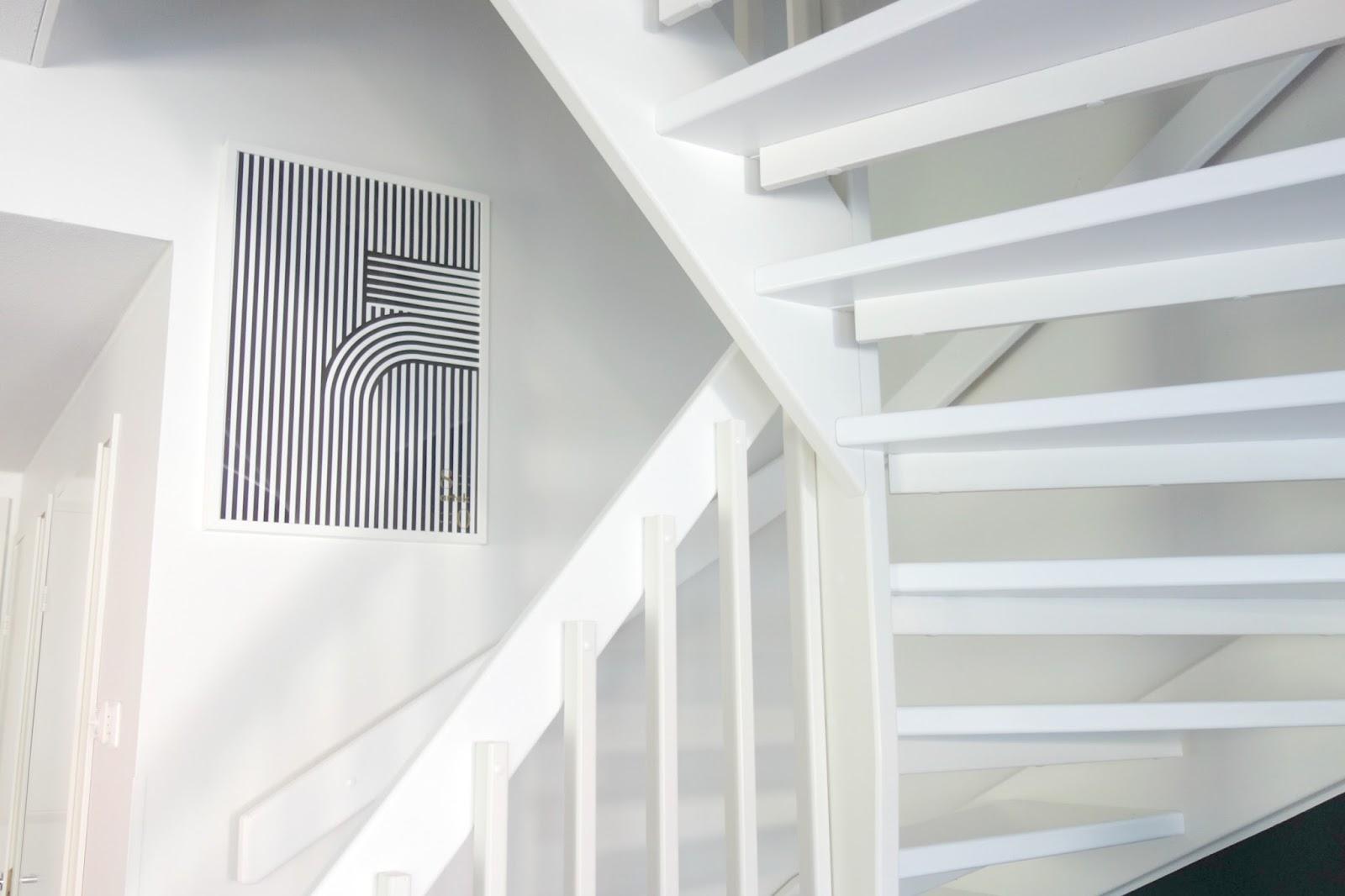 L'escalier quart tournant, l'ami des espaces carrés
