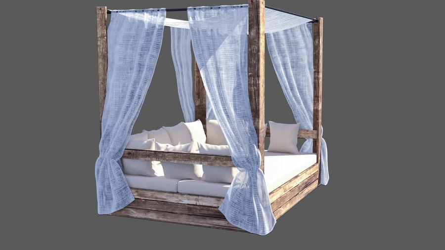Les lits balinais : le luxe et le confort dans le jardin