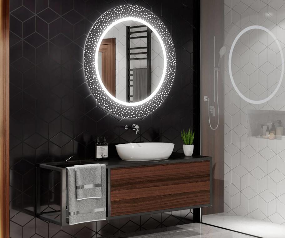 vous pouvez investir dans un miroir rétro éclairé avec des LEDs