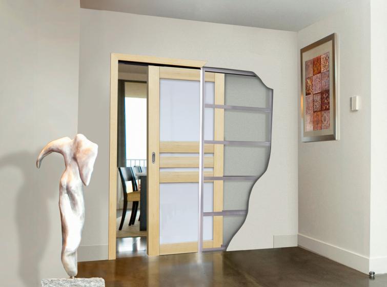 Les portes coulissantes escamotables pour des différents usages